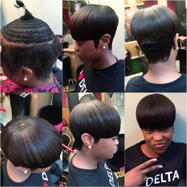 Partial Sew In With Hair Left Out At The Crown the rose affect Black Hair Information munity