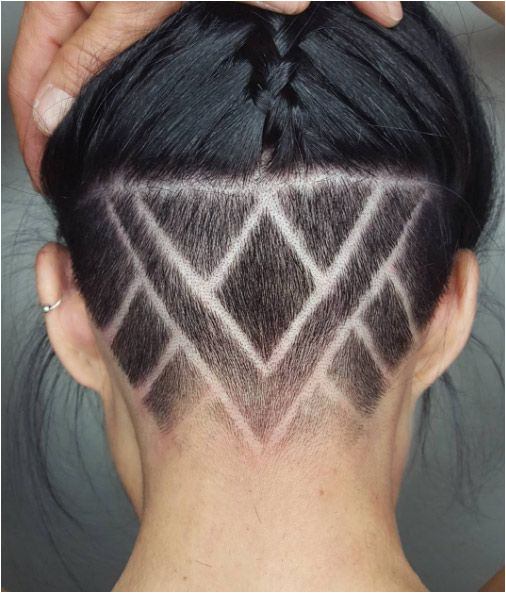 Piece by Piece Undercut Hairstyles Women Haircuts Wedge Hairstyles Shave Designs Black