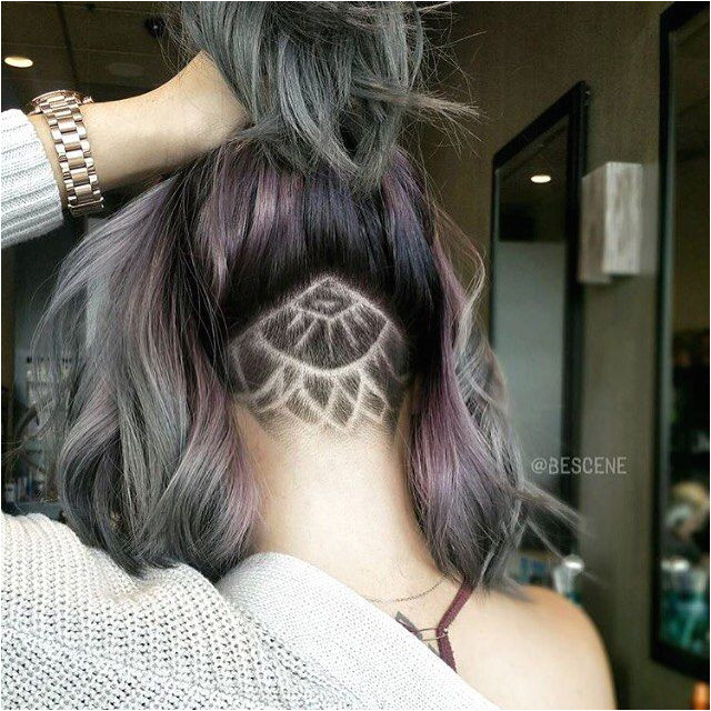 Cool Undercut Nape Shave Not that I could ever convince myself to do that part lor is awesome though
