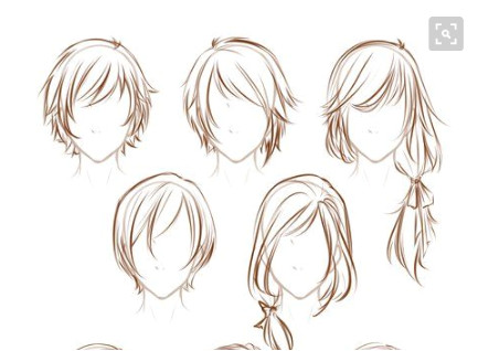 How To Draw Hair Short Hairstyles Drawing Ideas Draw Short Scene Hairstyles