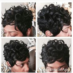 20 Chic Short Curly Hairstyles for Summer Hair and nails stuff Pinterest