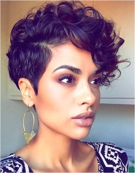Short N Curly Hairstyles Pin by Nikisha Leak On Short Cutz