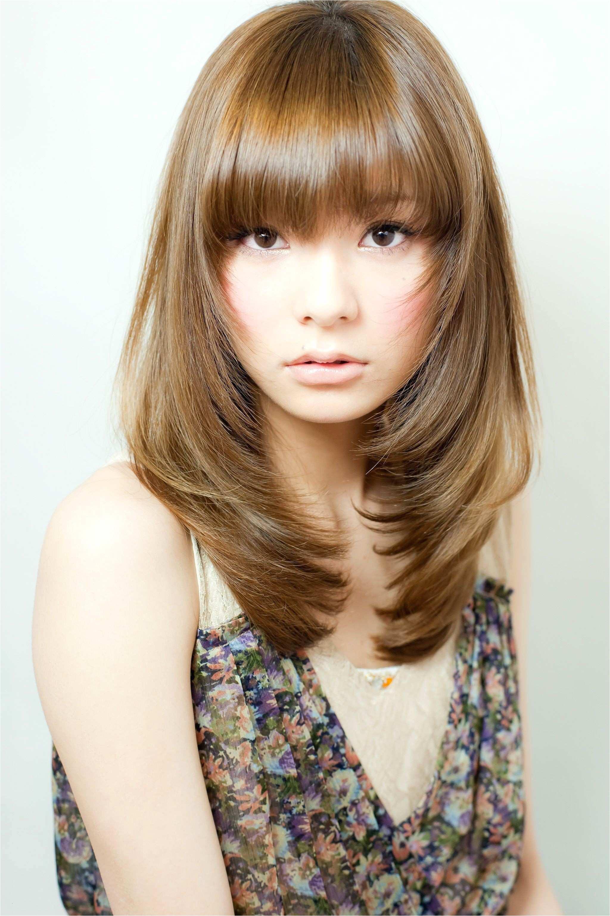 Style Asian Hair Unique Korean Medium Length Hairstyle 2016 Lovely Korean Hair
