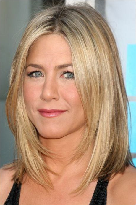 Jennifer Aniston – Ethnicity of Celebs Medium length layered haircuts for straight hair
