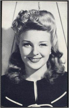 Simple 1940s Hairstyles 288 Best 1940s Hair Images In 2019