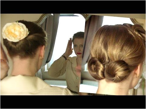 Simple Retro Updos for Everyday Life Different Ages