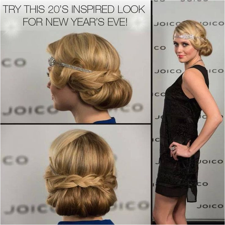Cute 1920 1930s hairstyle great for weddings or a night out hair
