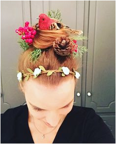 Crazy hair day for red ribbon free week So easy I got the
