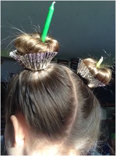 gah this is so cute for crazy hair day at school or a birthday party