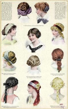 "the edwardian lady "" Hairstyles for Edwardian teenagers """