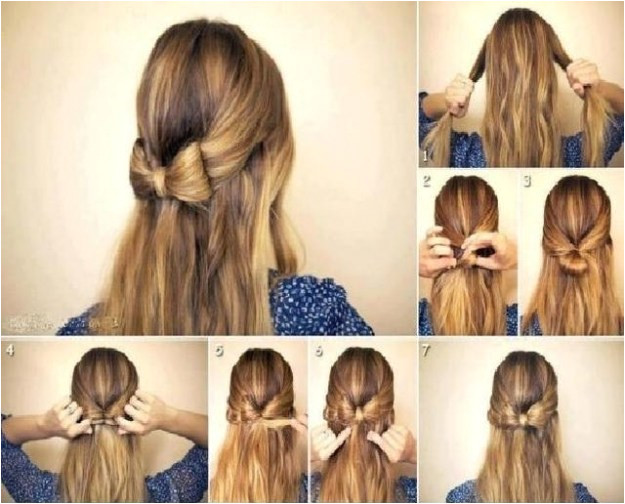 Easy Hairstyles for School Step by Step Fashionglint Latest Simple Eid Hairstyles Step