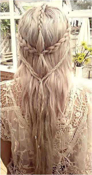 Beautiful Elven Hairstyle hair women hairstyle