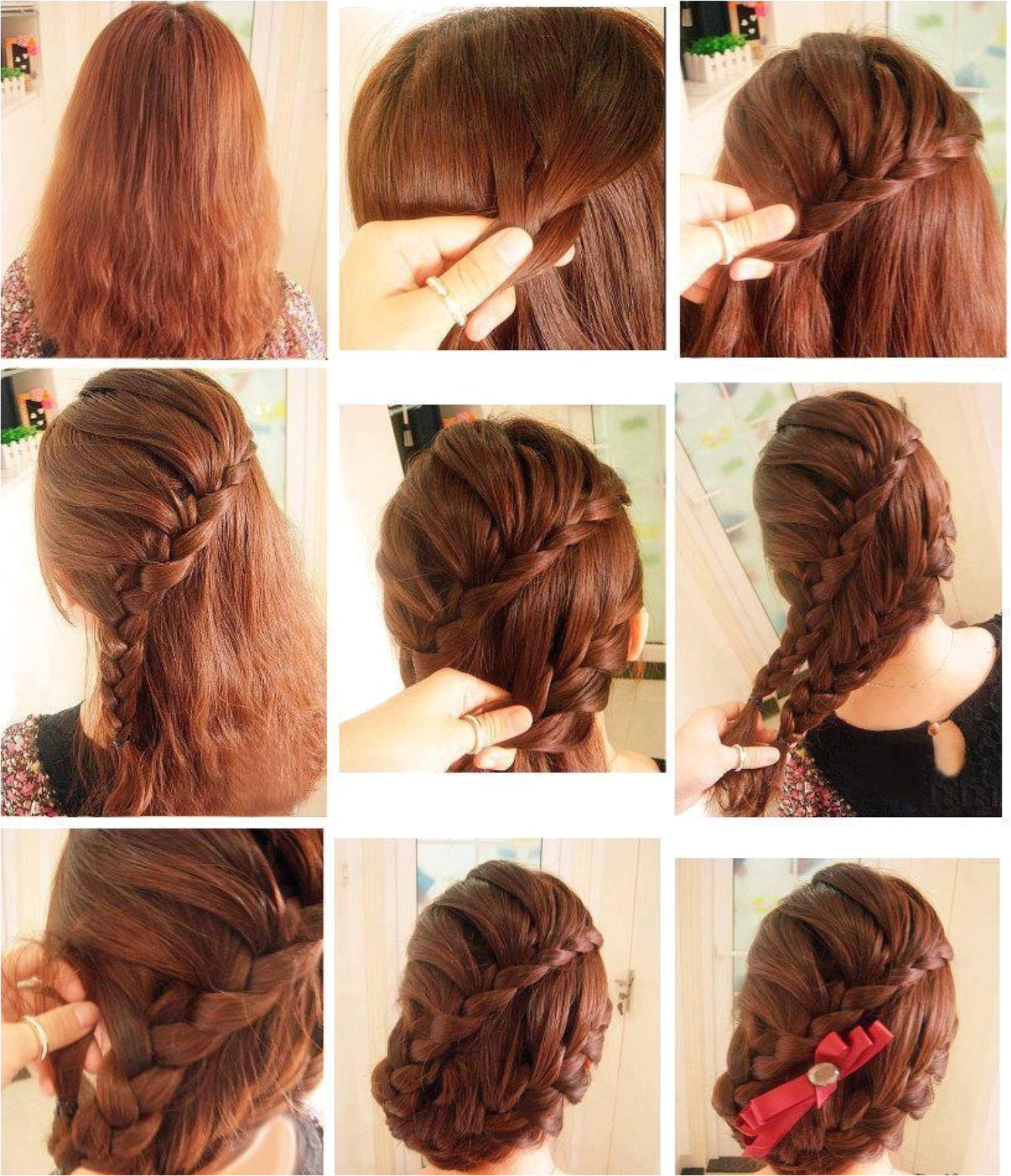 Imagine if you are about to attend a party or some special event like wedding and you are short of time to visit hairdresser Latest Long Hair step by step