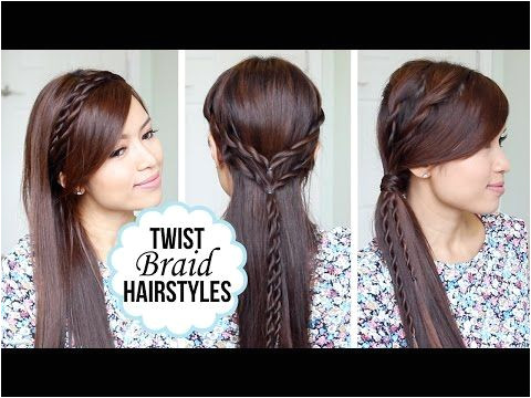 Quick and Easy Hairstyles with a Twist Giveaway