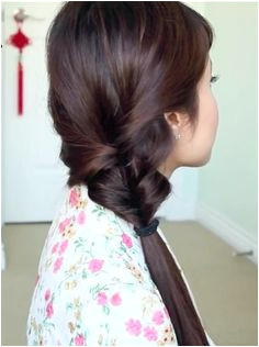 Dressed up ponytail