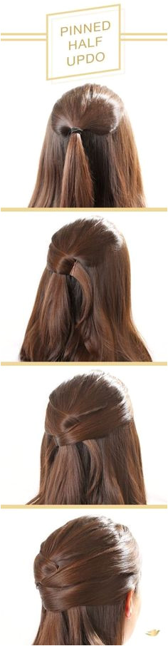 60 Simple Five Minute Hairstyles for fice Women plete Tutorials Hairstyles For Medium Length