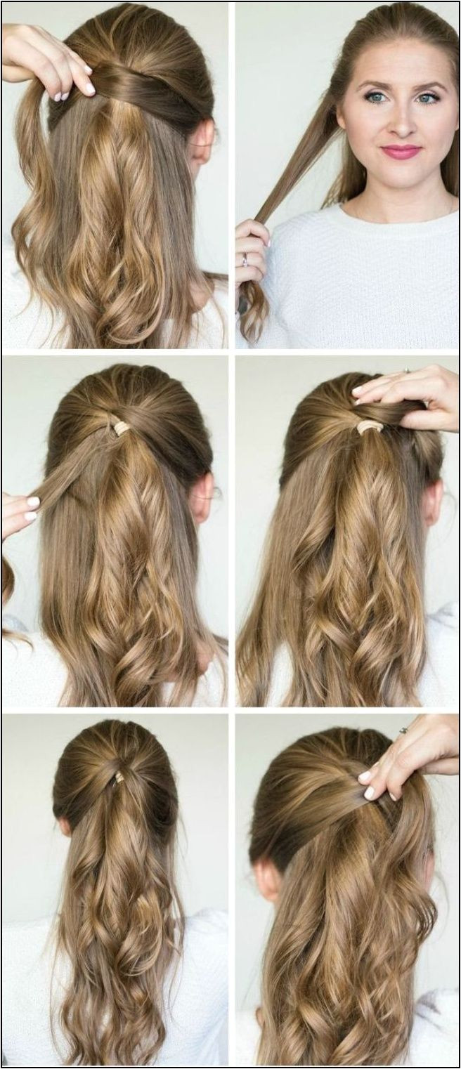 I Want To Do Easy Party Hairstyles For Long Hair Step By Step How
