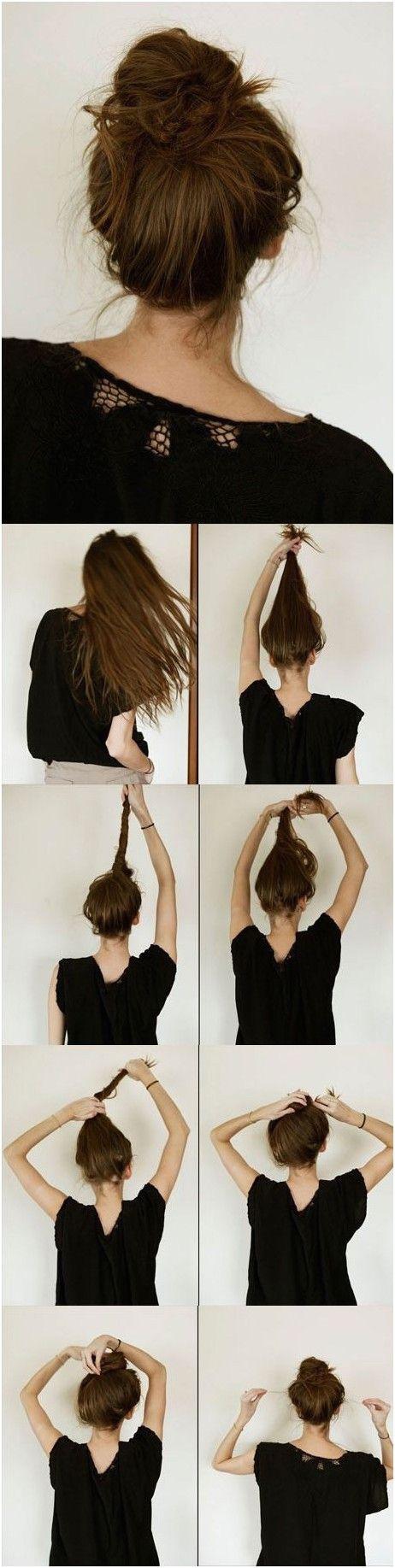 10 Ways to Make Cute Everyday Hairstyles Long Hair Tutorials All things hair Pinterest