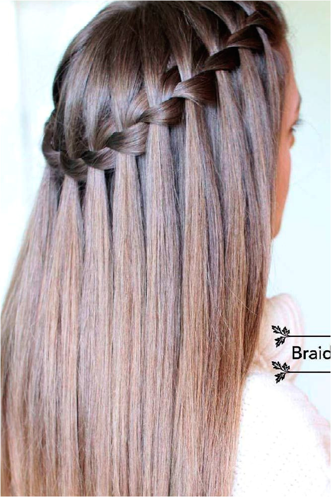 Are you looking for a simple tutorial that can teach you how to do a waterfall braid Our detailed tutorial is just for you Master this style fast