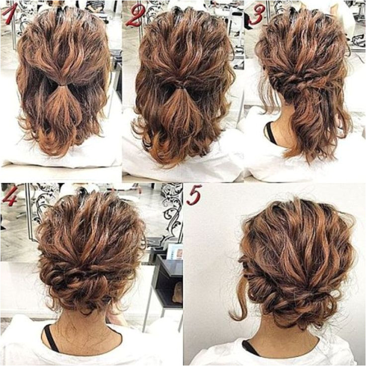 Cute Updo Hairstyles for Short Hair Unique Easy Hairstyles for Work Short Hair Luxury 11 Cute