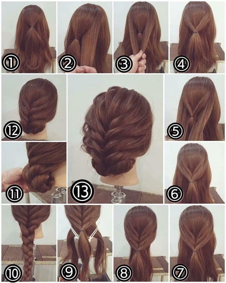 Easy Hairstyle Simple Hairstyle For Party Easy Updos For Long Hair Easy Work