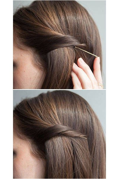 20 New Ways To Use Bobby Pins through to see all of the creative ideas here