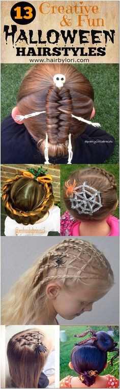 13 Creative Halloween Hairstyles Halloween Hairstyles Holiday Hairstyles Hair Styles For Halloween Creative