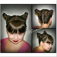 hairstyles ideas for halloween To celebrate Halloween our site offers a collection of the most beautiful original hairstyles for little girl