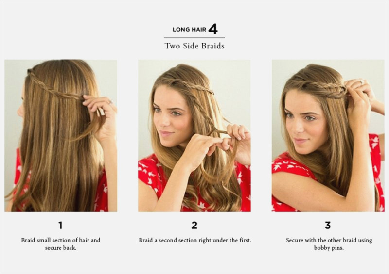 0d Be Simple Hairstyles Step by Step for Medium Hair Fresh 21 Lovely Quick Hairstyles for Long Hair