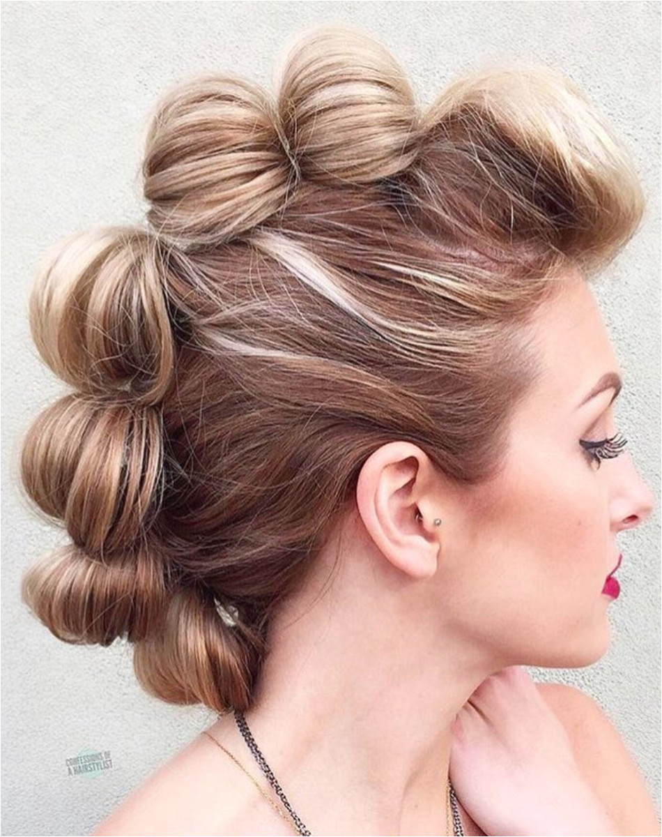6 Effortless Updos You Can Rock With Short Hair It doesn t matter if