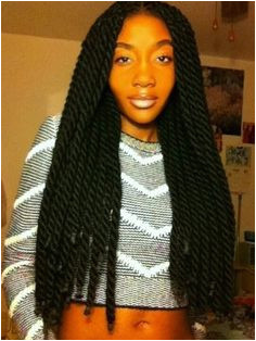 Brilliant Yarn Braids protective hairstyle I really like this It s just gorgeous