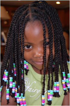 yarn twists protective hairstyle Not sure about putting this in her hair