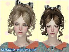 Sims 2 Female Hair Sims 2 Hair Female Hair Sims 4 Custom Content