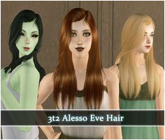 Rented Space Sims 2 Hair Space Eve My Sims Random Things
