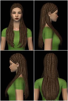 Hairs part 2 Dreadlocked textures