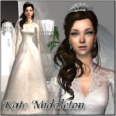 sims 2 wedding gown creator Kate Middleton Wedding Dress Chicago Sims 3 The