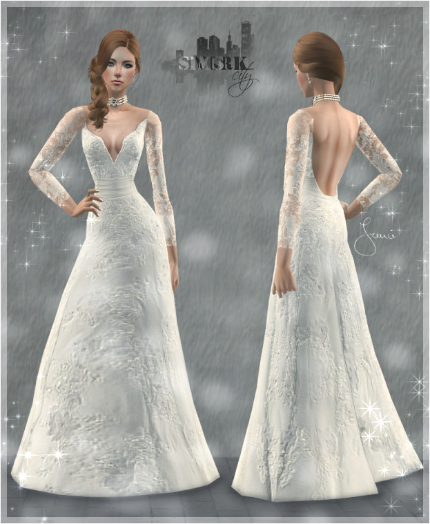 Sims York City 14 Wedding Dress Life Dream