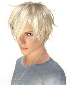 The Sims Sims Cc Sims 3 Male Hair Sims Hair Sims 4 Anime Bed Hair Sims House Hair Styles Art Illustrations