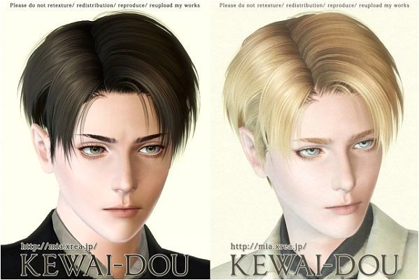 Sims 3 hair hairstyle male