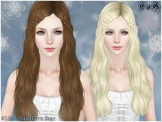 Northern Star Hairstyle Set by Cazy Sims 3 Downloads CC Caboodle Download Hair Sims