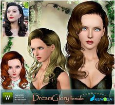 Sims 3 Games My Sims Sims Resource Virtual Reality Artists Female Hairstyles 1980s Hair Styles Content
