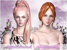 Sims Hair Hair Styles Jenni Sims 3 Image Hair Plait Styles Hairdos Haircut Styles Hairstyles