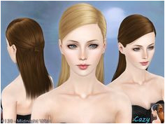 Midnight Wish Hairstyle Set by Cazy Sims 3 Downloads CC Caboodle Wish Download Hair