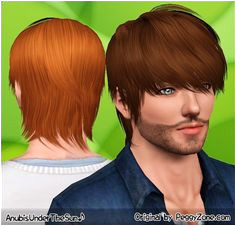 A great Sims 3 hair for male sims Best Games Sims 3