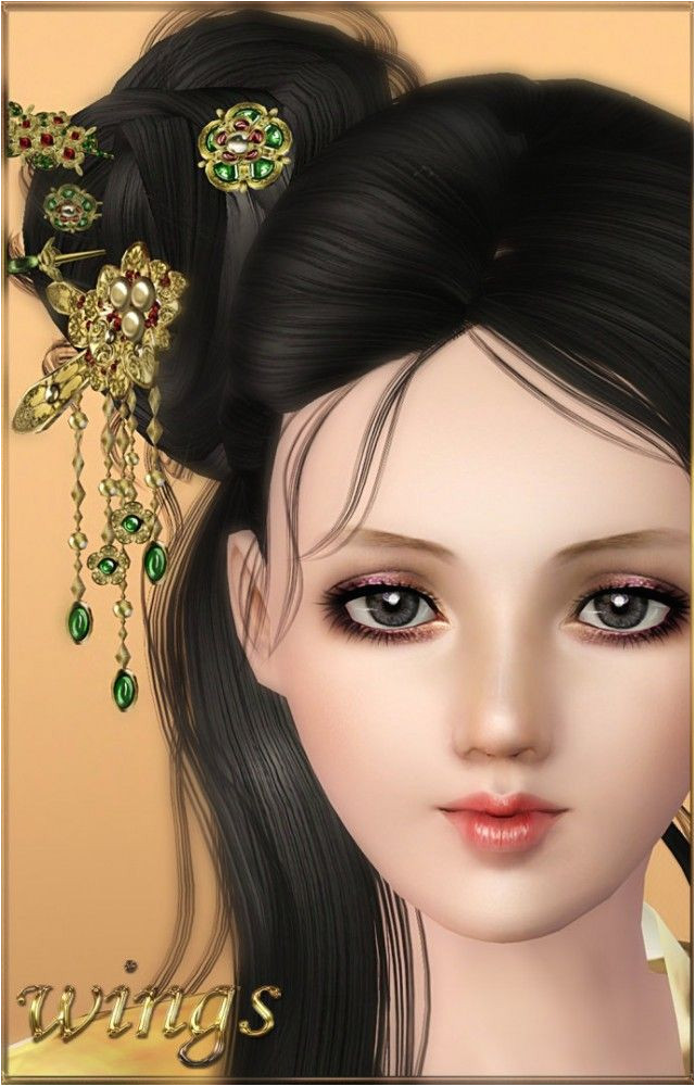 Ancient hair accesories by Wings Sims3 Sims 3 Downloads CC Caboodle