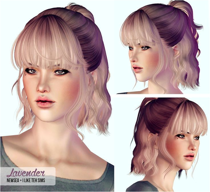 My Sims 3 Blog Hair Retextures by I Like Teh Sims