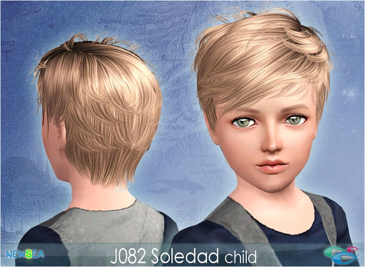 Newsea Soledad Male & Female Hair Donation ly Sims 3