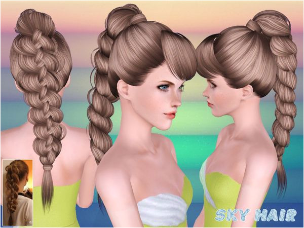 Hair 247 Set by Skysims Sims 3 Downloads CC Caboodle