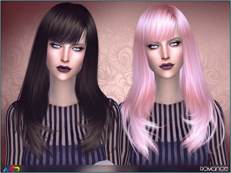 Shoulder length hair for your la s Found in TSR Category Sims 4 Female Hairstyles