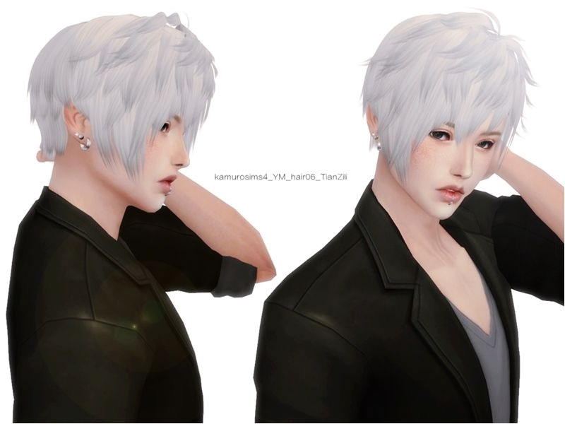 12colors Found in TSR Category Sims 4 Male Hairstyles